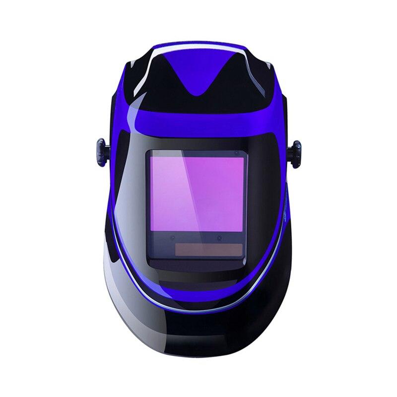 Deko mz232 solar powered capacete de soldagem escurecimento automático profissional capa ampla lente faixa de sombra ajustável 4/9 13 para mig tig - 2