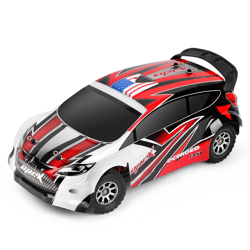 1:18 RC Car 4WD 4CH 2.4GHz Buggy Remote Control Radio Racing Car High Speed SUV Rock Crawler 4x4 Driving Car Toys for Kid Gift 1 12 high speed car ratio control 2 4 ghz all wheel drive model 4x4 driving car assebled buggy vehicle toy