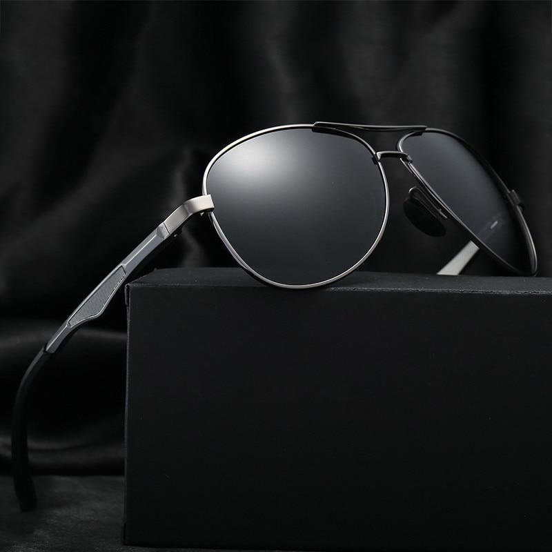 Aluminum Polarized Sunglasses Men Brand Luxury designer sun Glasses for zonnebril mannen lunette de soleil homme