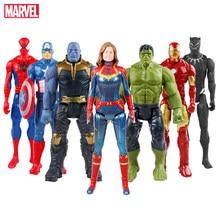 Marvel avengers 4 final 30cm super herói bonecas hulk homem de ferro capitão américa thor wolverine figura de ação brinquedos crianças presente