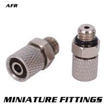 Миниатюрные фитинги внешняя резьба ПК трубка m6 4 мм 6 пневматических