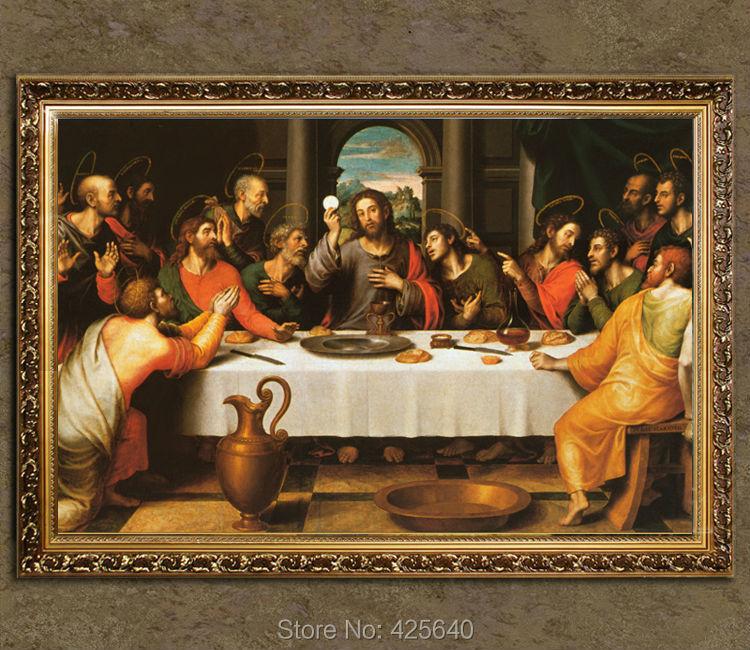 Aliexpress Com Buy Home Decor Jesus Christ Painting The