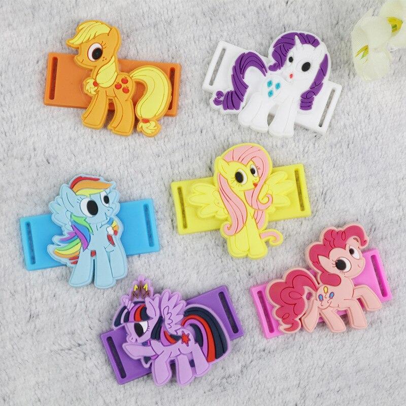 timeless design e502f d0768 Novità Carino 6 Pz/set PVC My Little Pony Charm Garden ...