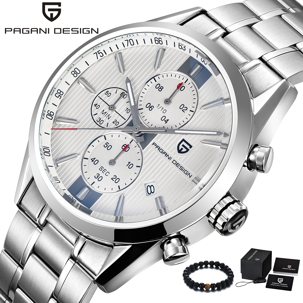 PAGANI Design Luxury Brand Simple Style Business Male Watch Quartz Stainless Steel Band Luxury Wristwatch Mens reloj hombre 2018 pagani design top luxury brand watches mens stainless steel band fashion business quartz watch wristwatch male