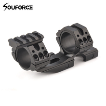 Tactical Aluminum Scope Mount Ring Heavy Dute 4 Screw 35mm 30mm Suit 20 mm Picatinny Weaver Rail for Hunting