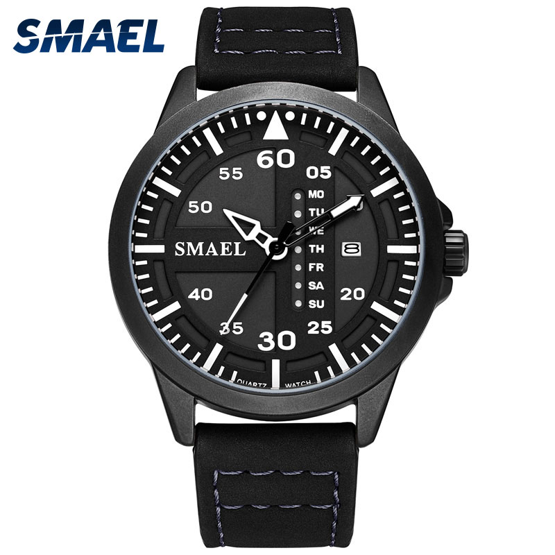 Sport Quartz Wristwatches Male Watch relogio SMAEL Big Watch Men Alarm Sports Watch Luxury 1315 Fashion Digital Watch Waterproof