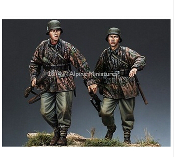 1 35 World War II German soldiers Resin Models