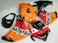 Hot Sprzedaż Dla Honda 08 09 10 11 Fireblade cbr1000rr 2008-2011 cbr 1000rr RepSol Owiewki do Motocykli sprzedaż (formowanie wtryskowe)