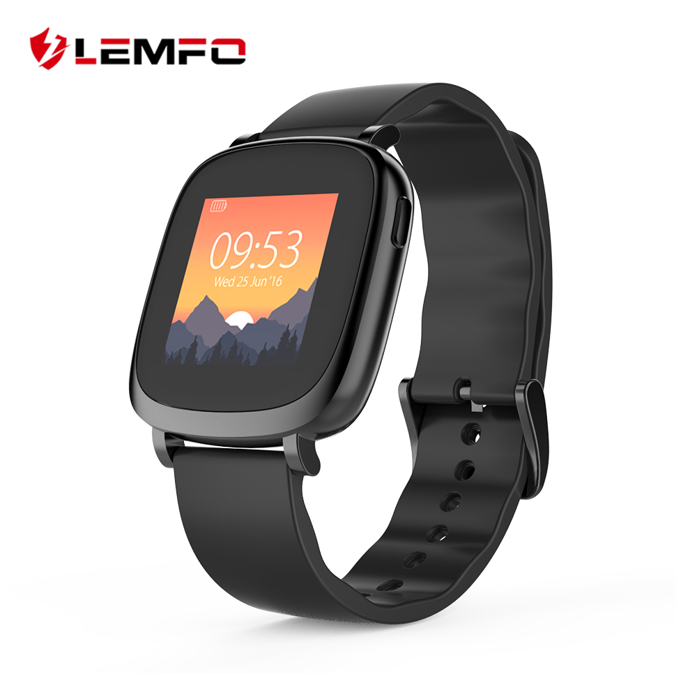 Watch with wrist hrm - Lemfo L42a Full Color Tft Lcd Screen Wrist Smartband Bracelet Heart Rate Monitor Bluetooth Smart