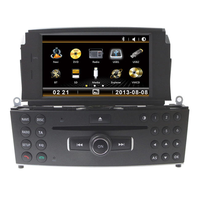 7 car cd dvd player gps navigation auto radio for. Black Bedroom Furniture Sets. Home Design Ideas