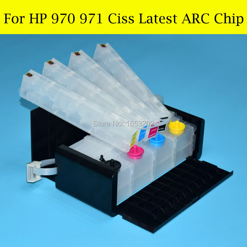 100 High Quality Feedback For HP 970 971 Ciss System Compatible For Hp Officejet Pro x451