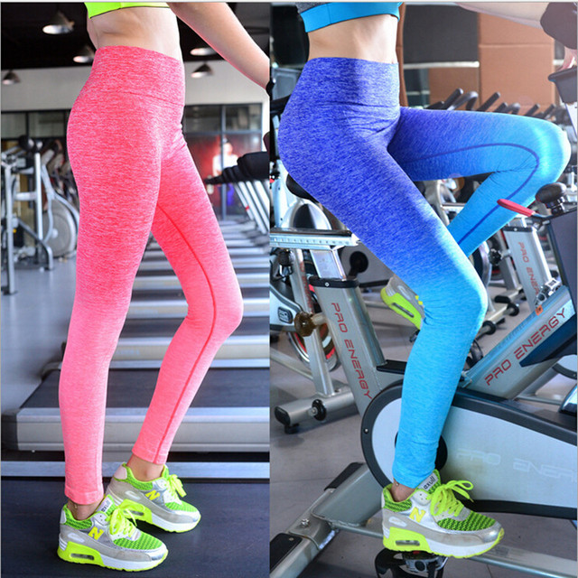 2016 New Fashion Leggings for Female Women Slim Pants Breathable Leggings Workout Fitness Girls Bodybuilding Elastic Clothes