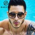 Gradiente marrom Óculos De Sol Dos Homens Top Designer Da Marca de óculos de Sol Mais Nova Tendência 2017 Óculos De Sol Para Homens/Mulheres Unissex Com Caixa Original