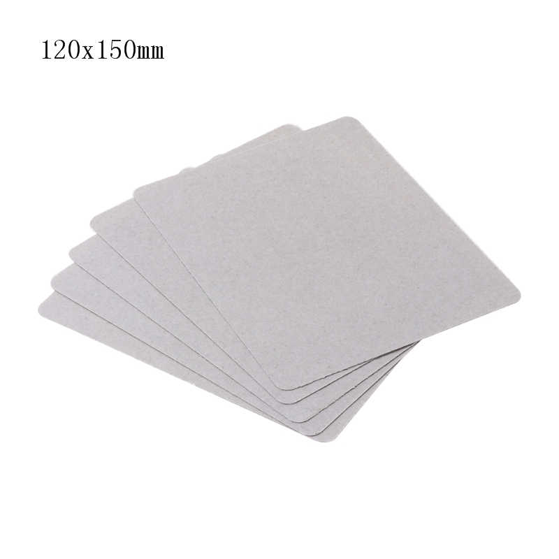 5Pcs Mica Plate Sheets Microwave Oven Replace Part 120x150mm Universal For Midea
