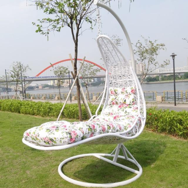 Adult Indoor Hammock Hanging Chair Swing Cradle Basket Rattan Balcony  Lounge Single Rocking