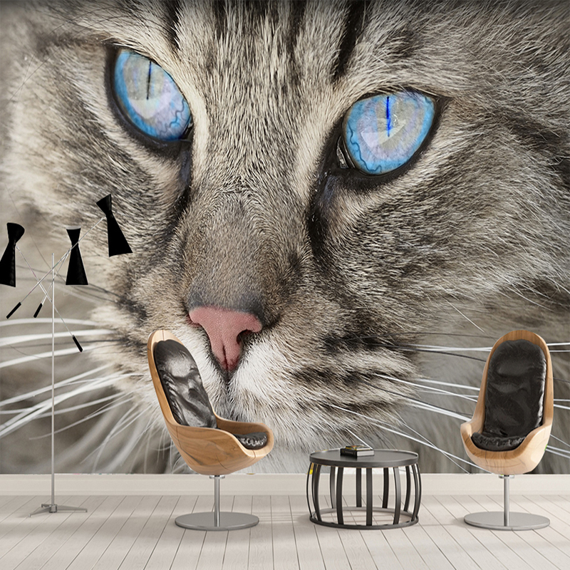Custom 3D Photo Wallpaper For Walls Roll Cat Eye Large Murals Modern Simple Living Room Bedroom Wall Papers Home Decor Painting