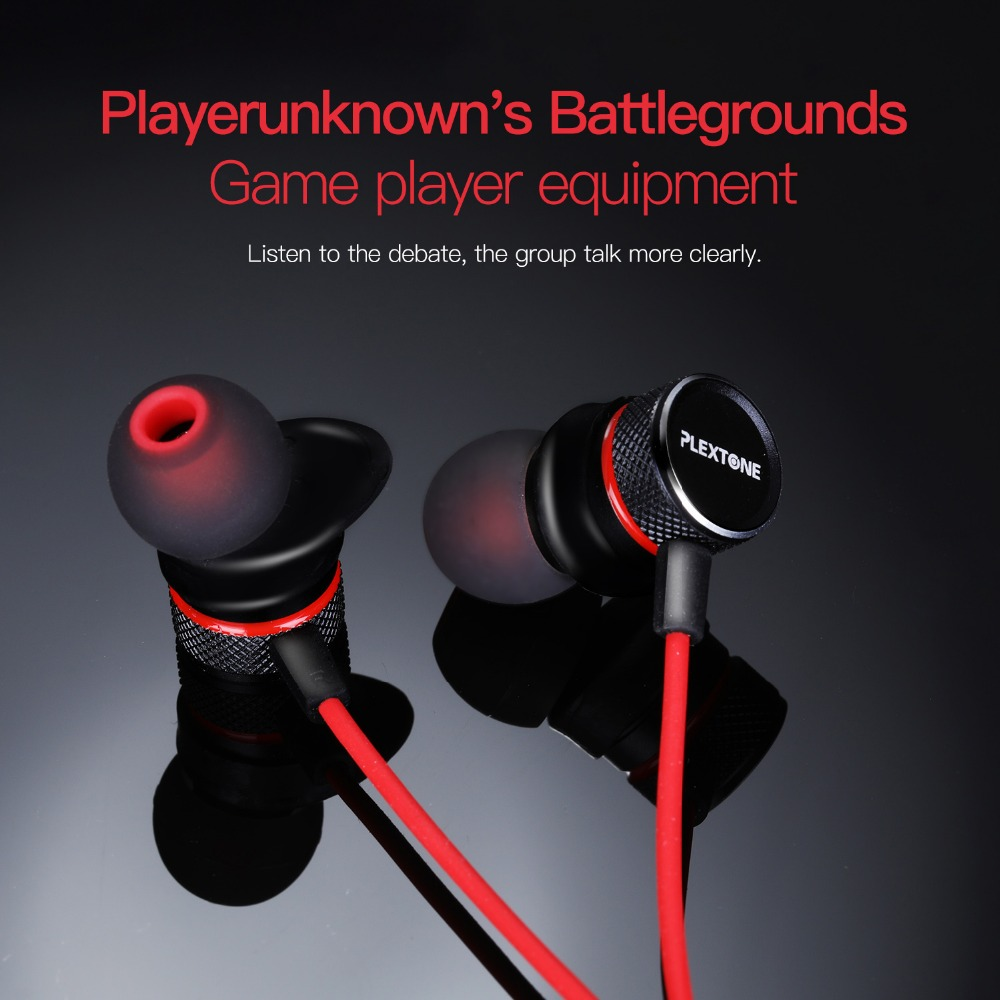 PLEXTONE G15 Earphone For Phone 3.5mm Wired In Ear Bass Earbuds Gaming Headset With Microphone MIC For Xiaomi Computer Gamer PS4 original earphone musttrue in ear super bass earbuds with microphone gaming headset for phone iphone xiaomi samsung pc