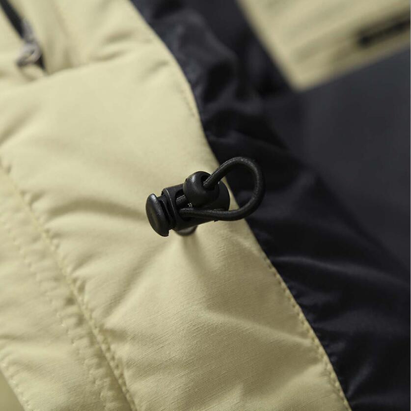 White Windbreaker discount Jacket