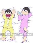 Japón Anime Abraza La Almohadilla Caso Cuerpo qf 150*50 Piel de Melocotón SEIS MISMAS CARAS Osomatsu SAN