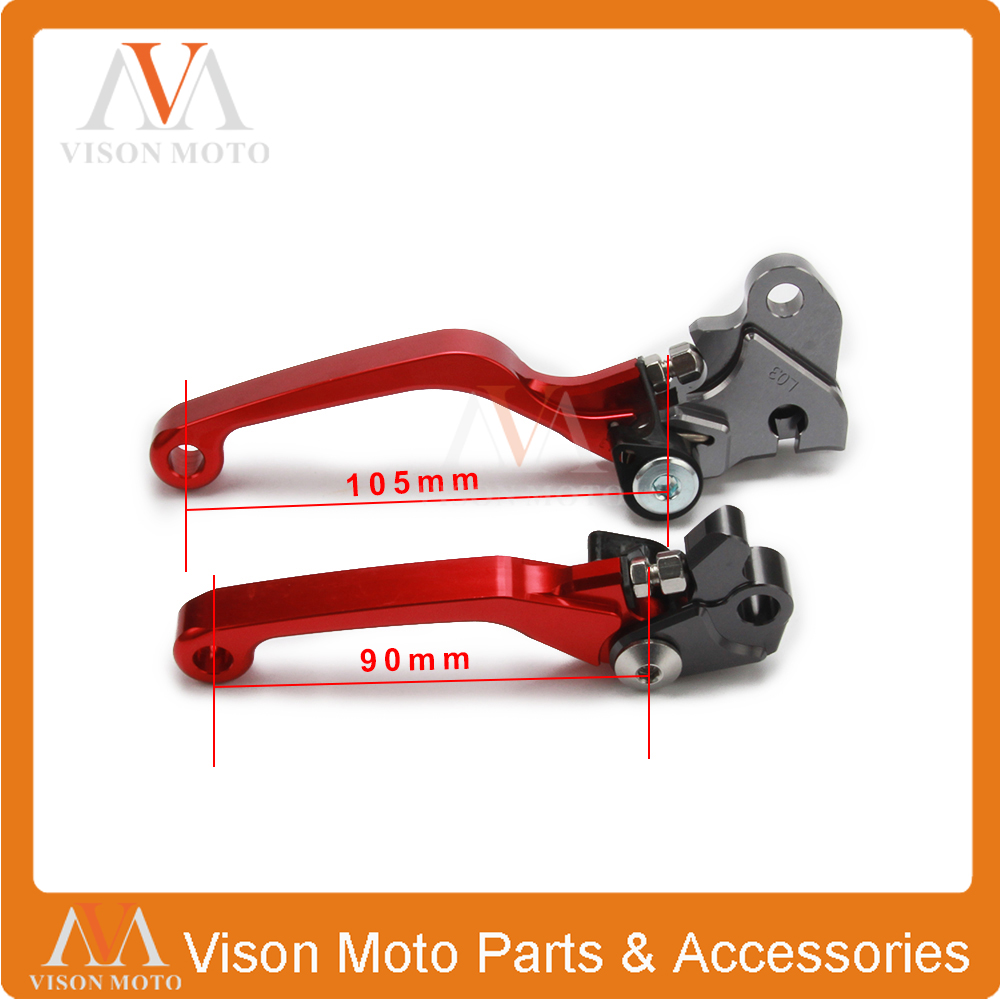 CNC Pivot Brake Clutch Levers For Honda CRF230F CRF 03 04 05 06 07 08 09 Motocross Enduro Supermoto Dirt Bike Offroad Motorcycle cnc pivot brake clutch levers for honda crf250r crf450r 07 15 crf motocross enduro supermoto dirt bike racing offroad motorcycle