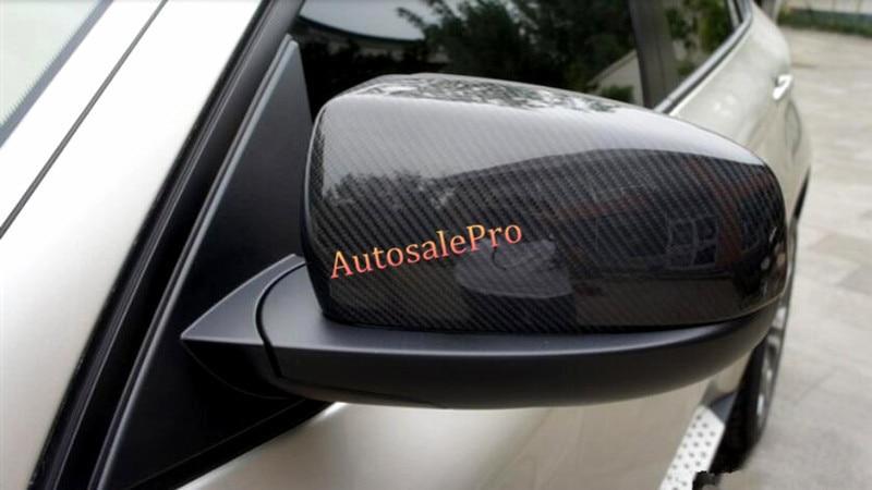 For BMW X5 E70 2008 2009 2010 2011 2012 2013 True Carbon Car Side Mirror Rearview Cover Trims 2pcs carbon fiber rear rearview mirror cover trim 2pcs for bmw x5 e70 2008 2009 2010 2011 2012 2013
