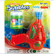 Hand Press Bubble Machine Without Water Plastic Three Color Toy Kids Family Games Toys For Children Gift