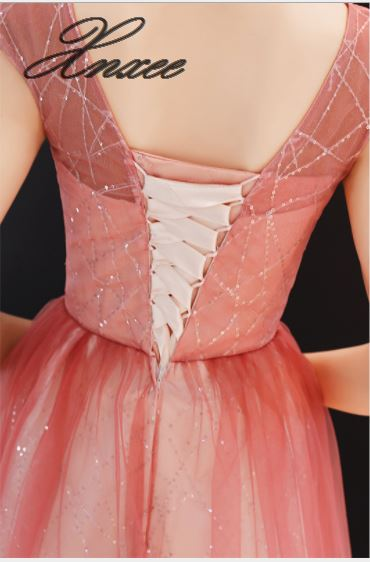 Vestito femminile 2019 nuovo lungo delle signore di temperamento sottile del partito di banchetto elegante abito elegante-in Abiti da Abbigliamento da donna su  Gruppo 2
