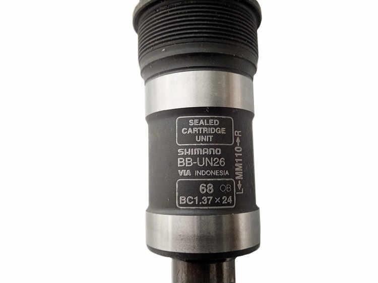Тормоза барабанного типа Shimano BB UN26 квадратное Отверстие Уплотнения, подшипник 117,5 мм 123 мм 113 мм 110 мм для 68 мм Рамка отверстие велосипед Запчасти