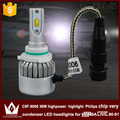 Guang Dian car led light Headlight Head lamp DIPPED BEAM Low Beam C6F 6000K white 12V 36W 9006 HB4 Fit for civic 1990-1991 only