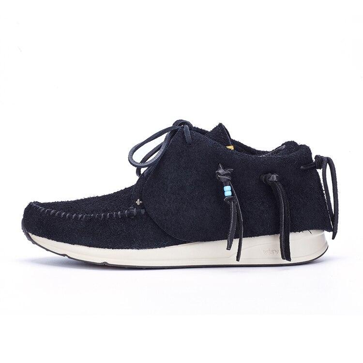 Private Специально новое поступление ручной работы японский кисточкой мужские Повседневное нубука тапки FBT серии Kanye west обувь