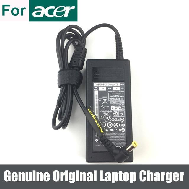 אמיתי מקורי 65W AC מתאם מטען עבור Acer Aspire 3600 3680 2633 4530 5250 0639 5732Z מחשב נייד