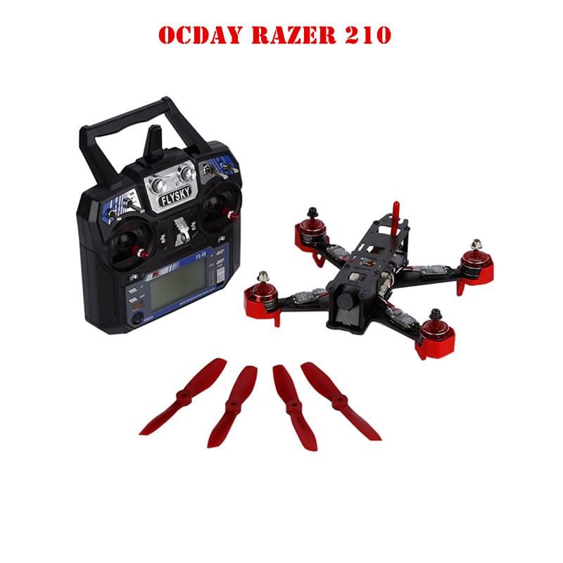 210 Size Full Carbon Fiber FPV Racing Drone Quadcopter RTF for FPV QAV250 H180 210 Mini Micro Quad quadcopter For OCDAY high quality carbon fiber mini 250 fpv quadcopter frame mini quad frame holder for zmr250 qav250