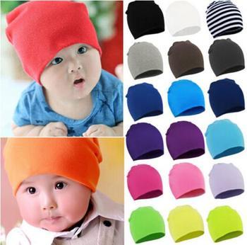 Gorąca wyprzedaż! 2020 Lovely Kids czapka dla niemowląt czapka dla chłopców dziewcząt Solid Color miękki kapelusz darmowa wysyłka gruba czapka zimowa dla dzieci Super kieszonkowy kapelusz tanie i dobre opinie Luna Louie COTTON Regulowany Unisex Stałe 0-3 miesięcy 4-6 miesięcy 7-9 miesięcy 13-18 miesięcy 19-24 miesięcy 10-12 miesięcy