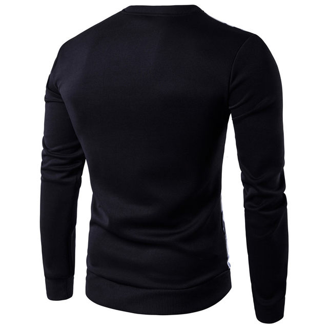 Online Shop LANBAOSI 3D Printed T Shirt Mens Long Sleeve White ...