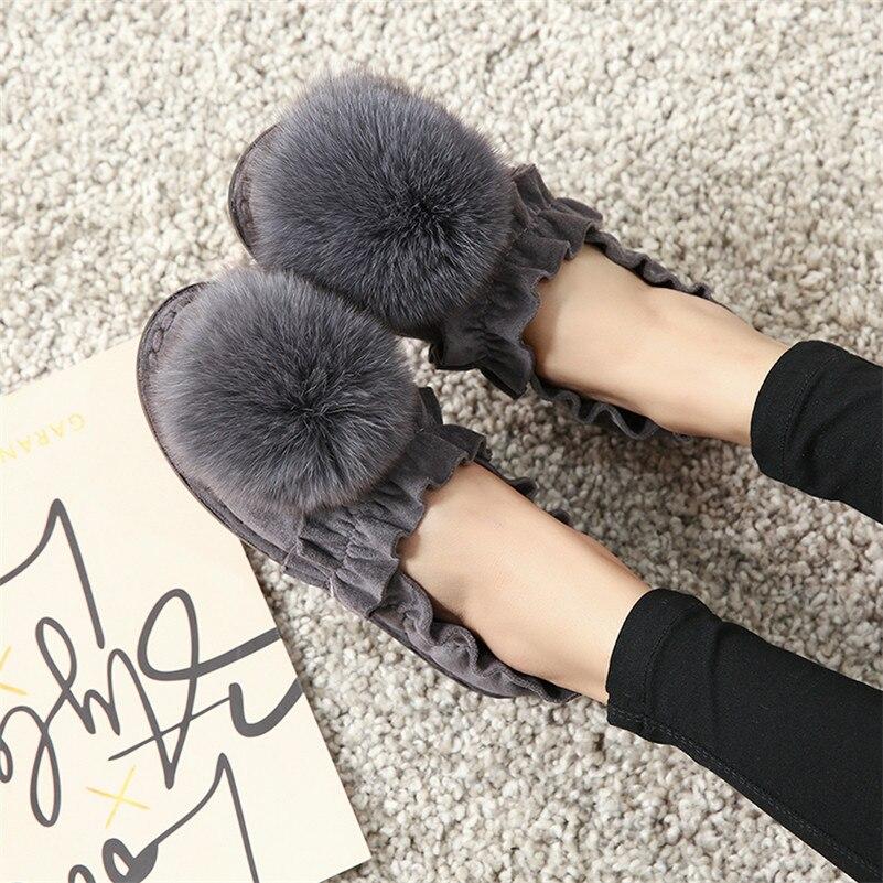 Las Mocasines Mujer Conasco En Señoras Vaca Superior gris Tacón Otoño Calidad Mujeres Calientes De Casuales Negro Gamuza Planos Bonitos Deslizantes Zapatos aPrBPqwtn