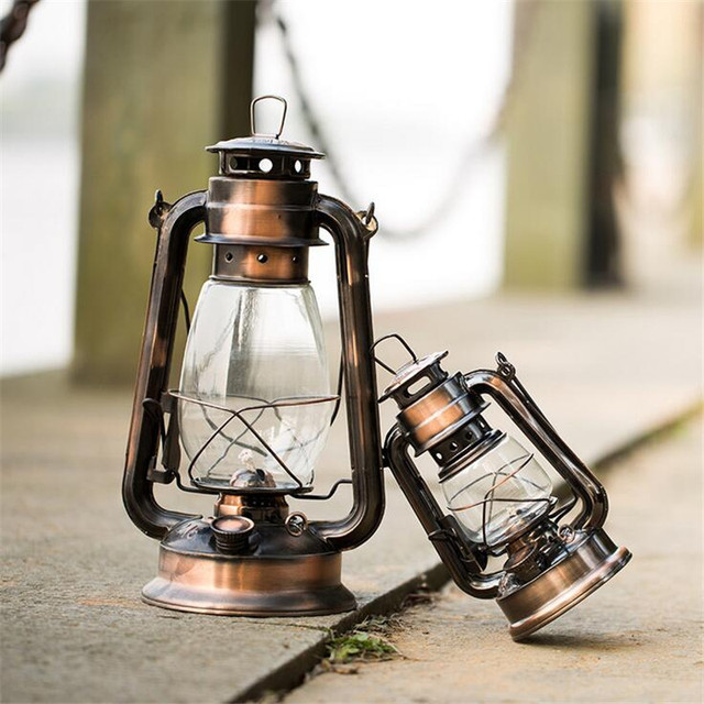 Vintage kerosene lamp outdoor lighting portable lantern tent camp vintage kerosene lamp outdoor lighting portable lantern tent camp lamp bronze color old fashioned nostalgic aloadofball Images