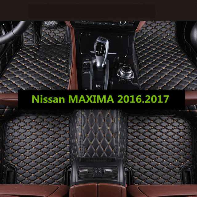 Car Floor Mats For Nissan MAXIMA 2016.2017 Foot Carpets Auto Step Mat High  Quality Brand New