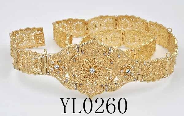 morocco metal belt caftan belt dans Ceintures et Cummerbunds de ... 6557f4e91ef