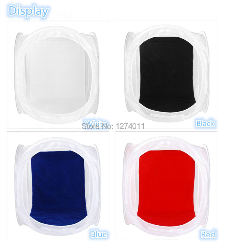 100*100 CM light softbox soft shed with 4 colors background cloth  feed shed light bulb for photography studio softbox studio lighting softbox light lambed 80cm cotans round cotans photographic equipment 4 flock printing background cd50