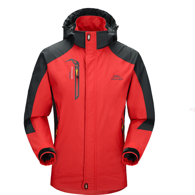 2018 New Spring Autumn Mens Softshell Hiking Jackets Male Outdoor Camping Trekking Climbing Coat For Waterproof Windproof VA002 1