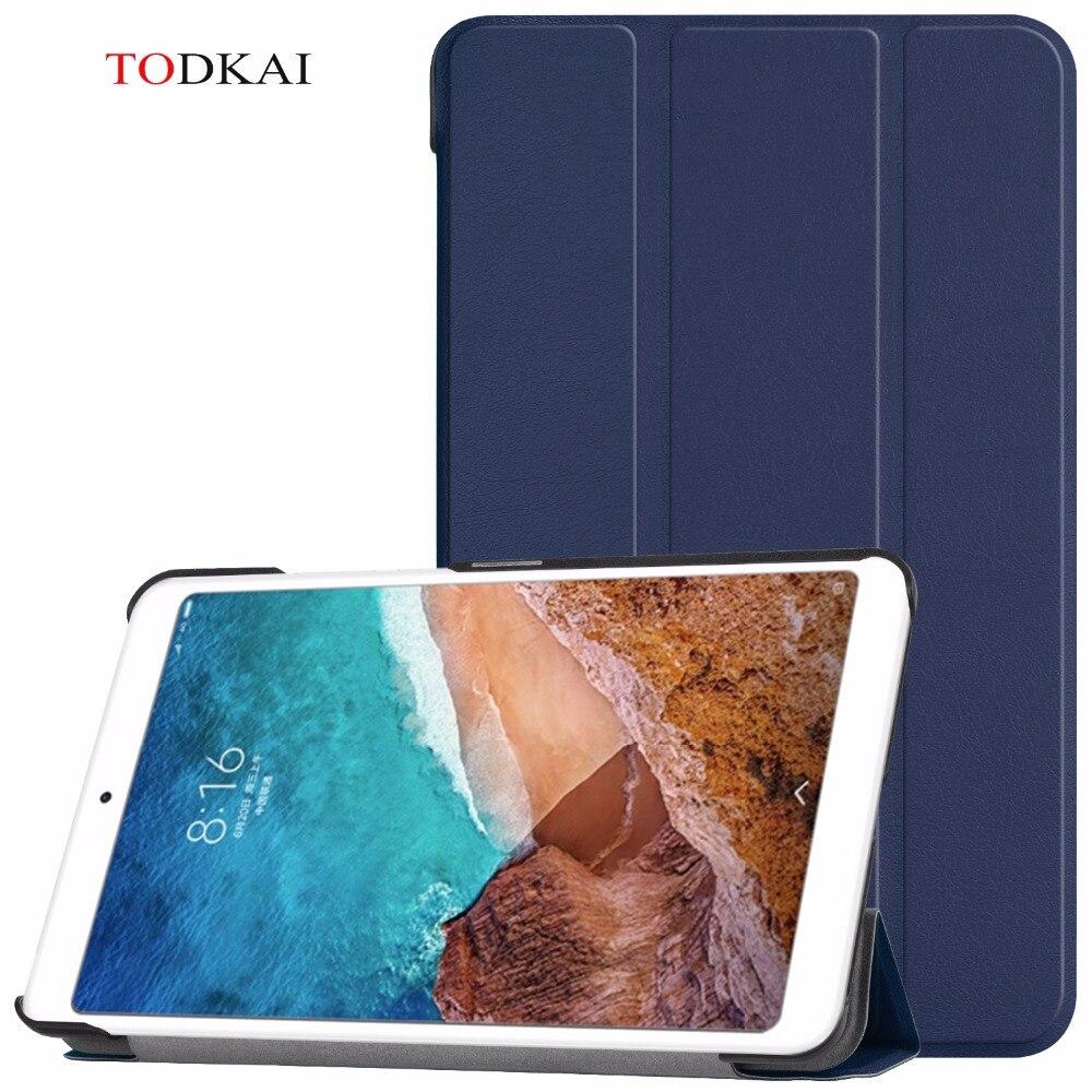 Imán inteligente dormir y despertar pu funda de piel para Xiaomi Mi Pad 4 MiPad 4 8,0 pulgadas tablet cubierta para Xiaomi Mi Pad4 Mipad 4 caso