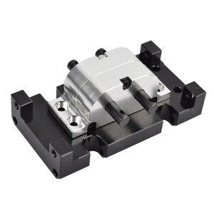 Image 3 - 1/10 RC מתכת תיבת הילוכים העברת מקרה הר מחזיק עבור צירי SCX10 D90 D110