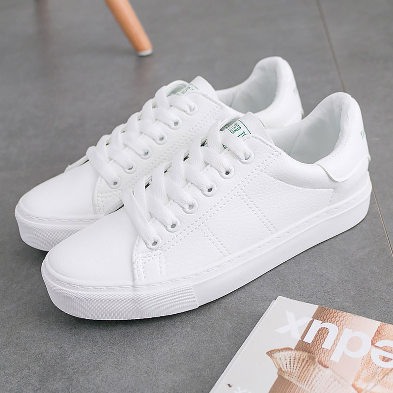 Summer shoes women 2018 new arrival tenis feminino casual shoes for women sneakes plus size lace-up white shoes woman new arrival star same paragraph woman slippers summer plus size comfortable attractive sapatos hot sales soft tenis feminino