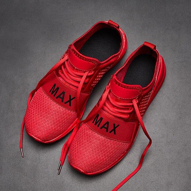 Men Sneakers Shoes 2019 Spring Breathable Men Casual Air Mesh Shoes Mens Slip On Zapatillas Hombre Casual Shoes Big Size Men