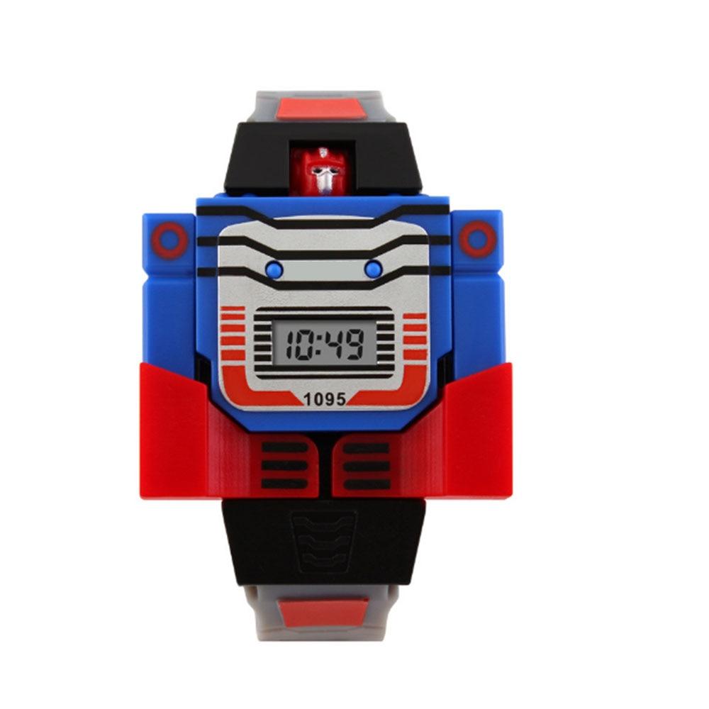 Электронные часы-игрушка персонаж фильма цифровой показ детские подарки творческие фигурки героев фильма Коллекция Модель игрушки - Цвет: Gray belt