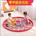 115*115 CM Caliente Doulble Mat Baby Play Mat Lavable A Prueba de agua bolsa de almacenamiento de Picnic Juego niño Alfombra Bebé alfombras Estera de arrastre. GH067