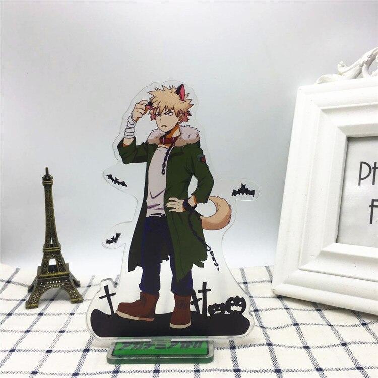 Anime My Hero Academia Boku no Hiro Akademia Acrylic Stand Model Toys Action Figure Pendant toy gift