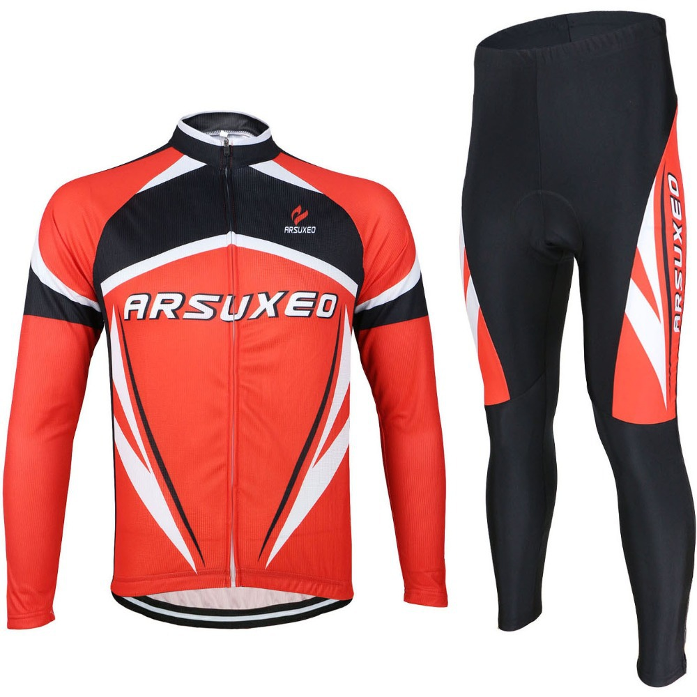 ФОТО ARSUXEO 2016 Bike Bicicleta Motocross Jersey And Pants Set Sport Suit Cycling Clothing Ropa Roupas Masculina Maillot Ciclismo 17