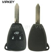 Remotekey Remote head car key 3 button 434 Mhz for Dodge JCUV Jeep Compass Chrysler 300C 04589199AC