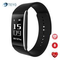 Teyo Smart Band K8 Bluetooth Heart Rate Monitor Smartband Push Weather Fitness Bracelet Sleep Tracker Wrist